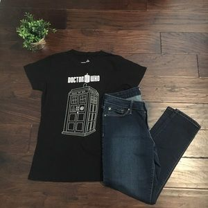 Black Doctor Who T-shirt